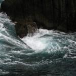 Waves in Cinque Terre