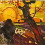 Sower with a Setting Sun - 2007